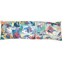 Travesseiro Agarradinho Com Fronha Homem Aranha Comics 1,30 X 45 Cm