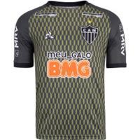 Camisa De Treino Do Atlético-Mg 2020 Le Coq Sportif - Masculina - Verde Escuro