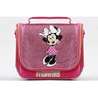 Lancheira Térmica Infantil Minnie Com Glitter Pink