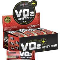 Vo2 Whey Bar Com 24 Barras Integralmédica - Unissex