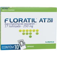 Floratil At 250Mg Merck 10 Cápsulas Gel Dura
