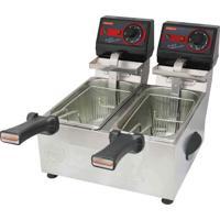 Fritadeira Elétrica Frita Fácil 2 Cubas 3L 110V - Cotherm
