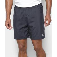 Bermuda Adidas Run Masculina - Masculino-Preto