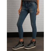 Calça John John Skinny Boy Siena 3D Feminina (Jeans Medio, 42)