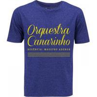 Camiseta Zé Carretilha Brasil Orquestra Canarinho Masculina - Masculino