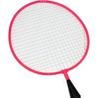 Kit Mini Raquetes Badminton Winmax Tempo Livre Wmy02021 Rosa - Unissex