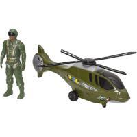 Helicóptero Resgate C/ Boneco - Cod. 323 Bs Toys