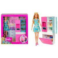 Barbie Móvel Com Boneca - Geladeira Dvx51