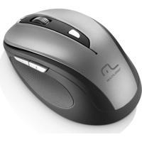 Mouse S/ Fio 2.4 Ghz Comfort 6Bts Cinza/Preto Usb Multilaser