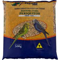 Ração Para Pássaros Pássaro Forte Mistura Para Periquitos Com 500G