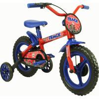 Bicicleta Aro 12 Tk Vermelho Azul Track Bikes