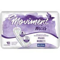 Absorvente Miss Moviment Maxi 10 Unidades