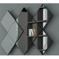 Painel Decorativo Losango C/ Espelho Tb83 - Dalla Costa Elare