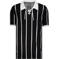 Camisa Retrô Alvinegro Sp 1929 Masculina - Masculino