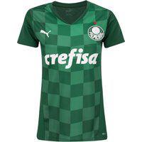 Camisa Do Palmeiras I 21 Puma - Feminina