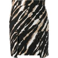 House Of Holland Tie-Dye Mini Skirt - Preto