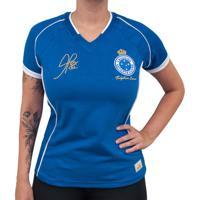 802fea408879f Netshoes  Camisa Retrô Mania Cruzeiro 2003 - Alex - Tríplice Coroa Feminina  - Feminino