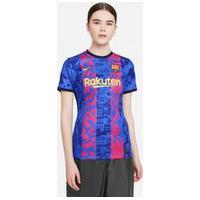 Camiseta Nike Barcelona Iii 2021/22 Torcedora Pro Feminina