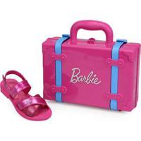 Sandália Infantil Grendene Barbie Pink