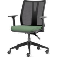 Cadeira Addit Assento Crepe Verde Menta Com Base Piramidal Em Nylon - 54117 - Sun House