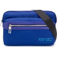 Kenzo Pochete Retangular - Azul