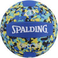Bola De Vôlei Spalding Eva Foam Series Volley 72352Z - Azul/Amarelo
