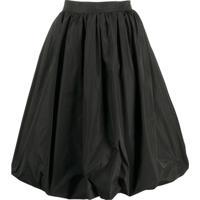 Patou Generous Skirt - Preto