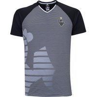 Camiseta Do Atlético Mg Masculina Braziline Shield 21