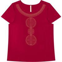 Blusa Vermelho Lunender