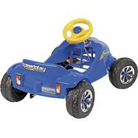 Carrinho De Brinquedo Infantil Com Pedal Homeplay Speed Play Azul
