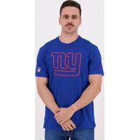 Camiseta New Era Outiline Nfl New York Giants Royal