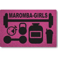 Tapete Capacho Maromba-Girls - Rosa Pink