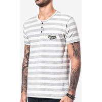 Camiseta Henley Cotton Hermoso Compadre Masculina - Masculino