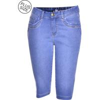 Pedal Jeans Plus Size Loony Jeans Azul
