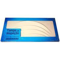 Tampa Acrílica Ventilada Para Banheira De Hidromassagem 75X35Cm Ouro Fino