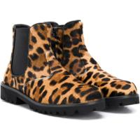 Dolce & Gabbana Kids Ankle Boot - Marrom