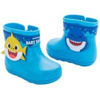 Bota Grendene 22538 Baby Shark Splash Grendene Azul