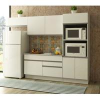 Cozinha Compacta Madesa Glamy Mia 6 Portas 2 Gavetas - Branco