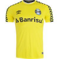 Camisa De Goleiro Do Grêmio I 2019 Nº 1 Umbro - Masculina - Amarelo