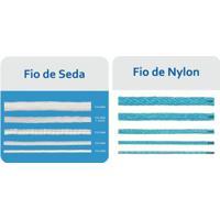 Netshoes  Rede Oficial Futebol Suíço Fio 2 (Nylon) 4 M - Par - Unissex 923b855b8e1f1