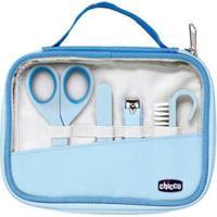 Kit Manicure Bebê Chicco - Happy Hands - Unissex-Azul