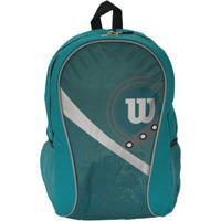 Mochila Esportiva Wtix13531B Azul/Cinza - Wilson - Unissex-Azul+Cinza