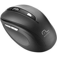 Mouse Sem Fio Comfort Usb 2.4Ghz Preto Mo237 Multilaser