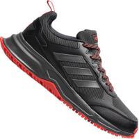 Tênis Adidas Rockadia Trail 3.0 - Masculino - Preto/Vermelho
