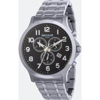 Relógio Masculino Seculus 48088G0Svna1 Analógico 10Atm