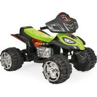 Mini Quadriciclo Elétrico - Fort Play Sport Verde 6V - Homeplay