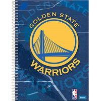 Caderno Foroni Nba Golden State Warriors 15 Matérias Escudo