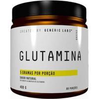 Glutamina 400G Generic Labs - Unissex