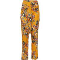 Calça Pantalona Malik Market 33 - Amarela