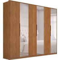 Guarda-Roupa Casal Com Espelho Atrice I 6 Pt 6 Gv Amêndola